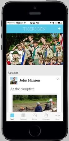 Scouts Iphone screenshot