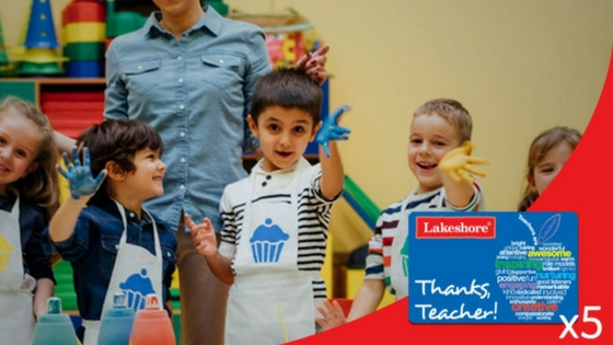 Announcing the Winners of our Teacher Appreciation Promotion
