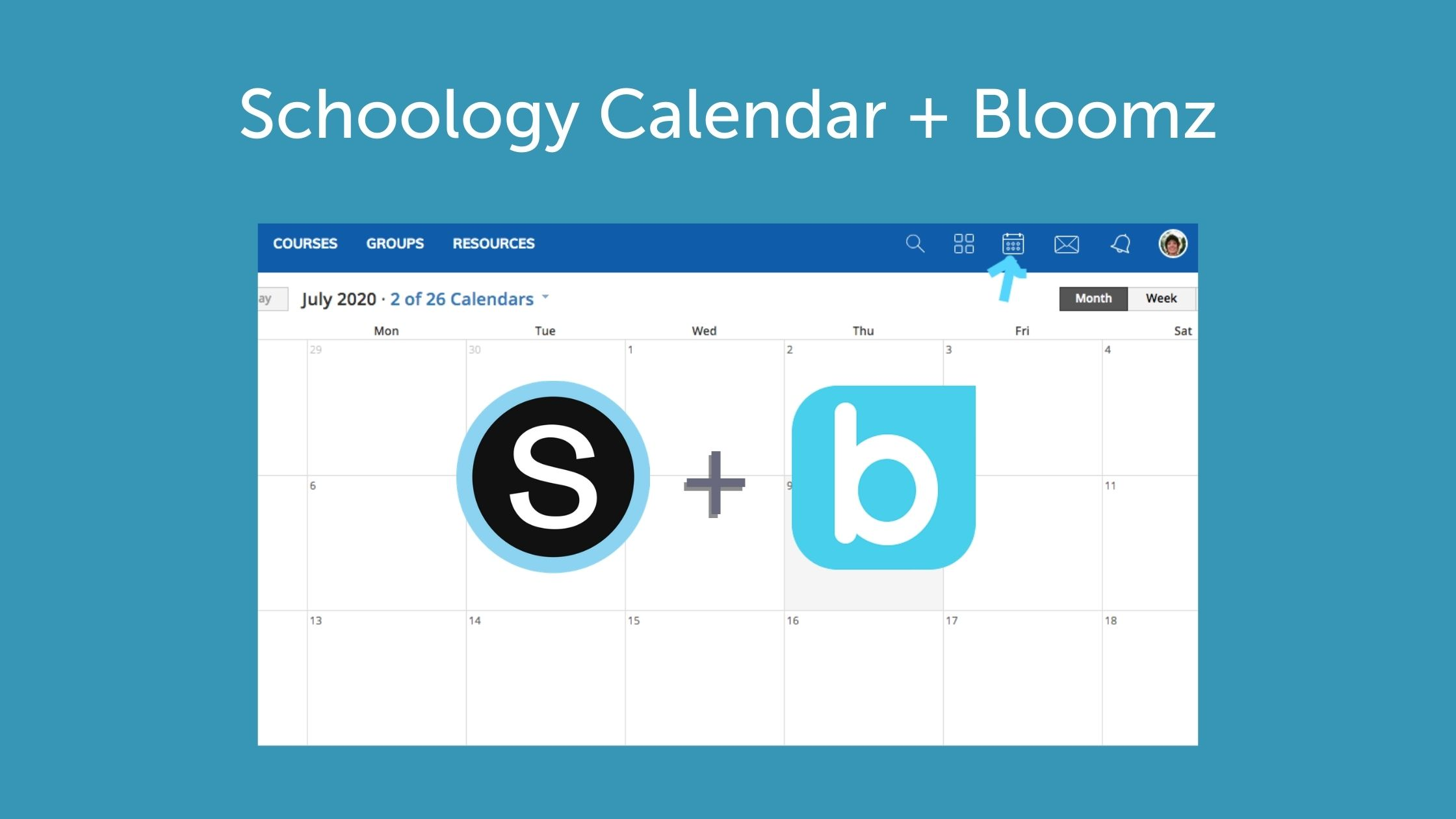 Syncing Your Schoology Calendar with Bloomz