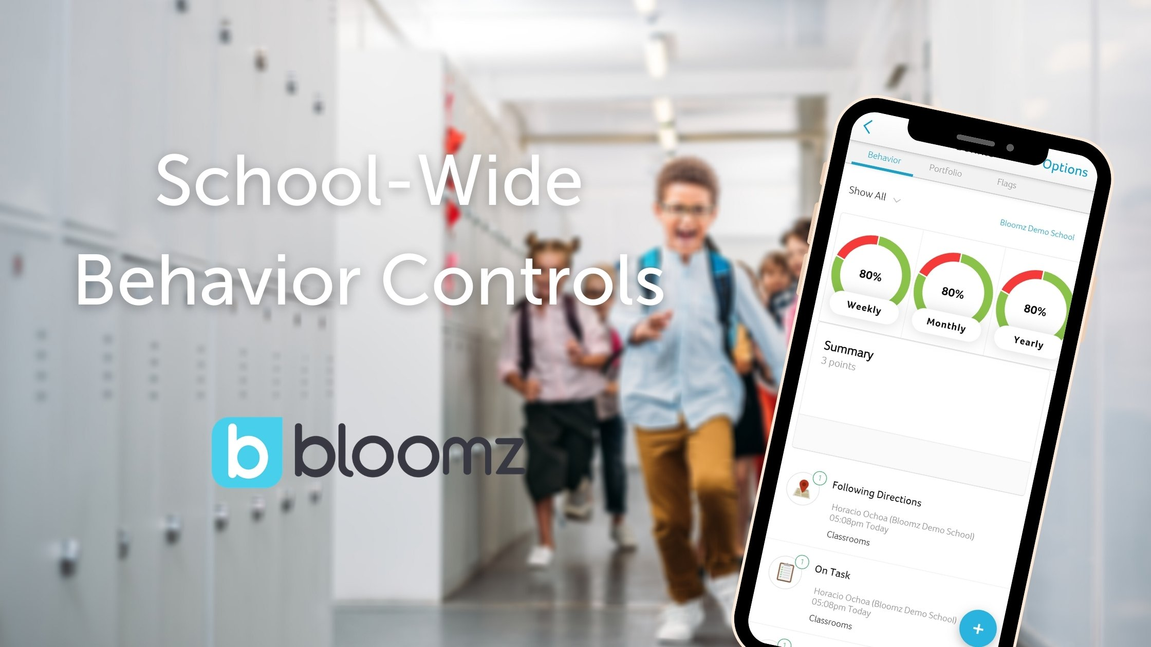 New! School-wide Behavior Controls